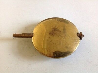 Antique Clock Pendulum 162g 52mm Diameter 75mm Long  Spare Part