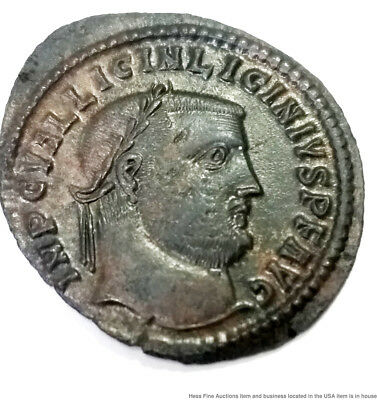 Genuine Ancient Roman Coin Licinius I 308-324AD Jupiter Victory Globe Eagle Feet