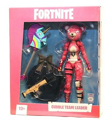 Fortnite Cuddle Team Leader Premium 7-Inch Action Figure by McFarlane Toys - NEW