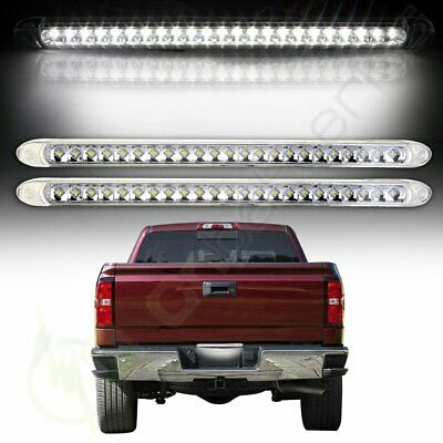 "17/"" RED LED FLANGE MOUNT TRAILER TRUCK STOP TURN TAIL LIGHT BAR WATERPROOF SEALE"