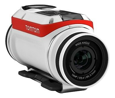 NEW SEALED TomTom Bandit 4K UHD Action Video Camera PREMIUM PACK gps outdoor