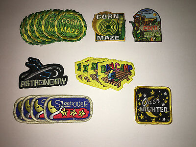 Girls Scout Misc. Fun Patches Lot #1. New/never been used.