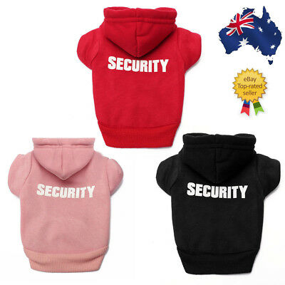 Pet Dog Cat Fleece Clothes Jumpsuit Security Puppy Hoodie Dress Coat Costume Hot