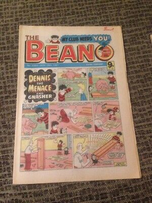 VINTAGE The Beano Comic No 2054 November 28th 1981 Dennis The Menace