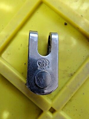 "Gibb Jaw Toggle 3/8"" Pin 2'l X 1""w X 5/8""d  3/8"" Slot"