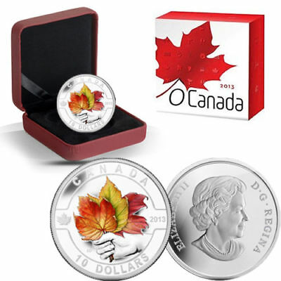 Canada 2013 Maple Leaf Strong and Free 1/2 oz Pure Silver $10 Matte Proof Color