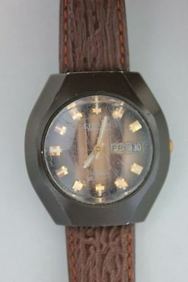 Citizen Automatic Tag + Datum Herrenarmbanduhr, um 1970