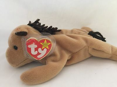 TY Beanie Baby - DERBY the Horse - with Tags  ES-411