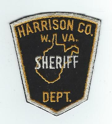 VINTAGE HARRISON COUNTY, WEST VIRGINIA SHERIFF'S DEPT (CHEESE CLOTH BACK) patch