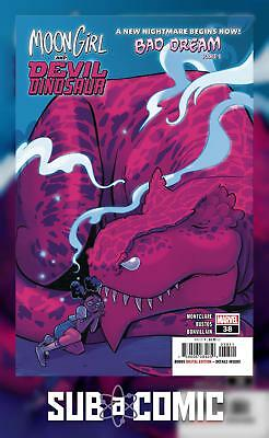 MOON GIRL AND DEVIL DINOSAUR #38 (MARVEL 2018 1st Print) COMIC