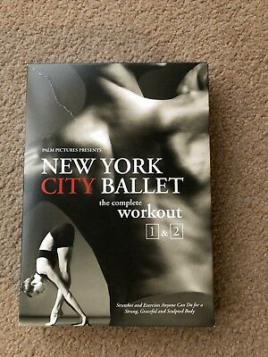 New York City Ballet The Complete Workout 1 & 2 DVD Box Set