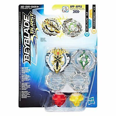 Beyblade Burst Dual Pack Tops - Xcalius X2 & Yegdrion Y2 - IN STOCK | FAST SHIP