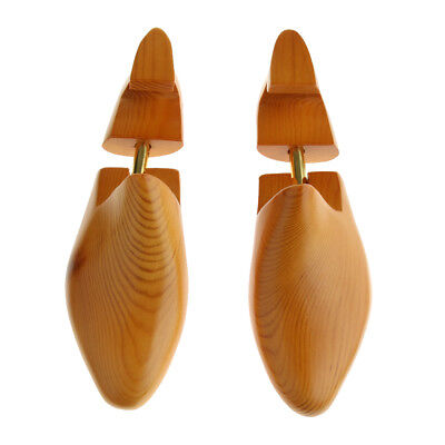1 Pair Wooden Shoe Tree Stretcher Shaper Keeper Adjustable Shoes Expanders