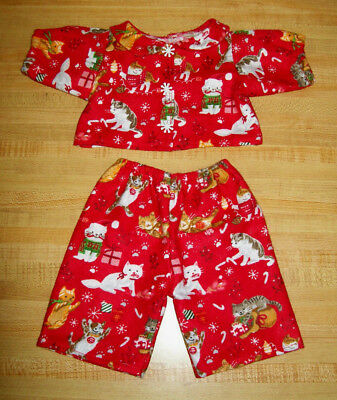 "PIRATE ZOO ANIMALS YELLOW  flannel pjs pajamas for 16-17/"" CPK Cabbage Patch Kids"