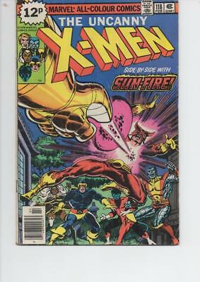 X-Men 118 Fine+ 1978 Marvel Bronze Age Comic