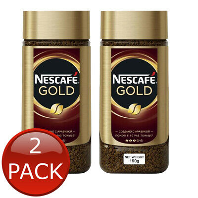 NESCAFE GOLD INSTANT COFFEE SABOR INTENSO PREMIUM ROAST BEANS RICH AROMA 200g