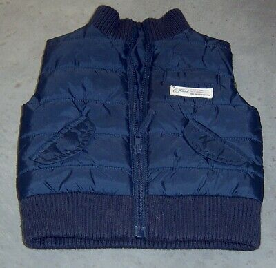 Country Road Baby Boys  Puffer Vest Sz 0 -  3 Months