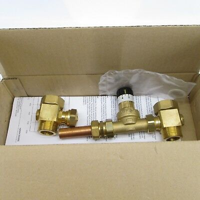 Watts D4402050 Radiant Z Series Manifold Differential By-Pass Valve NOS 81005345