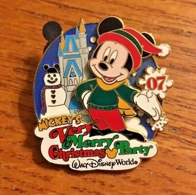Disney Mickey's Very Merry Christmas Party Wdw Passholder Exclusive L.e. Pin 07