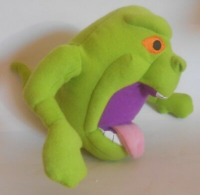 """Toy Factory 2011 Ghostbuster's Slimer 7.5"""" Plush EUC Ghostbusters"""