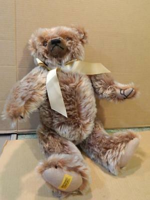 "Limited Edition Teddy Bear Merrythought Light Brown 256/1000 Signed 19"" Mohair"