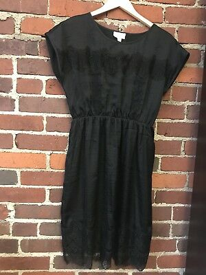 NWT! Matty M for A Pea in the Pod Maternity Black Cocktail Holiday Dress Size M