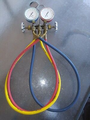 Uniweld quick action series manifold gauge set