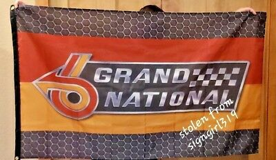 Buick Grand National 3' X 5' Polyester Flag Banner Man Cave Bar NEW GNX