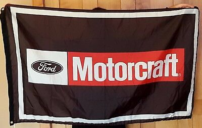 Ford Motorcraft Mustang Roush 3'X5' Polyester Flag Banner Man Cave Bar 5.0 Cobra