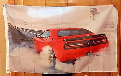 SRT Mopar Flag NHRA Racing 3x5ft Dodge Auto Sign Banner Car Hellcat