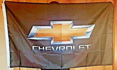 Chevrolet Chevy Racing 3x5 Flag Garage Wall Banner Car Show Gift Camaro Impala