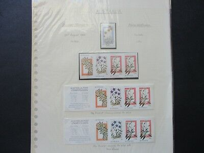 Australian Stamps: Mint Decimal Collection on Pages - Great Mix  FREE POST (D98)