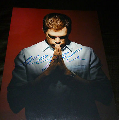 """DEXTER (Praying) Authentic Hand-Signed """"Michael C.Hall"""" 11x14 (PROOF)"""