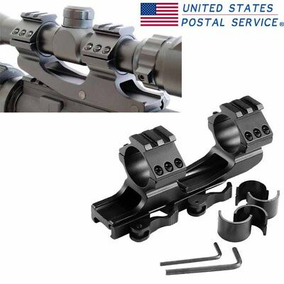 Hunting 25.4mm/30mm Dual Ring Scope Mount For 20mm Weaver Rail Quick Release