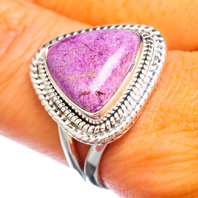 Sugilite 925 Sterling Silver Ring Size 8.25 Ana Co Jewelry R916892