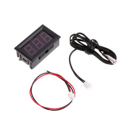 1x Mini Digital LCD High Temperature Thermometer water Sensor With Probe Celsius