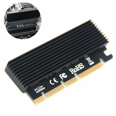 M.2 NVMe SSD NGFF to PCIE 3.0 X16 Adapter M Key Interface Card FULL SPEED CA