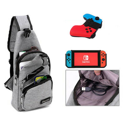 For Nintendo Switch Console Joy-Cons Travel Backpack Travel Case Bag ..HOT