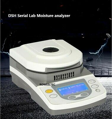 50g Capacity 5mg Readability Lab Moisture analyzer with Halogen Heating