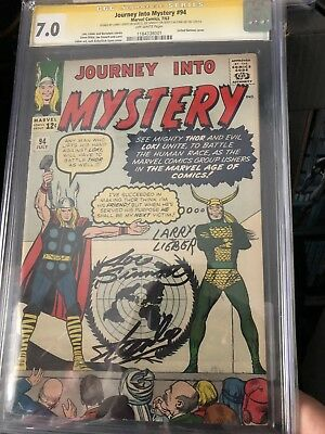 Journey Into Mystery 94 Stan Lee Signautre