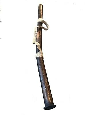 NEW hand-crafted Deep Tone DIDGERIDOO didjeridu didjerido beeswax mouthpiece 55""