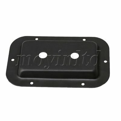 13.7x9x1.2cm Speakon Jack Plate with Dual Holes for Speaker Cabinets
