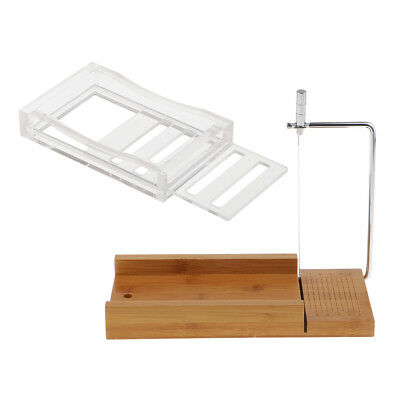 Handicrafts Gifts Soap Making Supply Wooden Soap Cutter Soap Dish Holder Kit