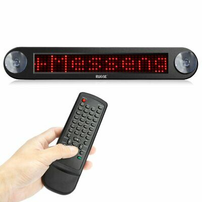 Remote Car Led Sign Programmable Showcase Message Sign Scrolling Display