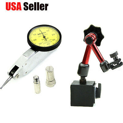 Universal Flexible Magnetic Metal Base Holder Stand Dial Test Indicator Tool S
