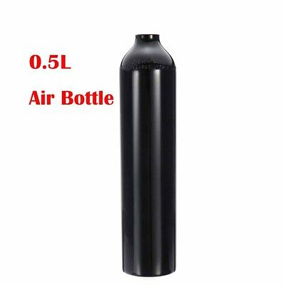 0.5L Air Tank Paintball PCP High Compressed Air Bottle M18*1.5 Thread Aluminum