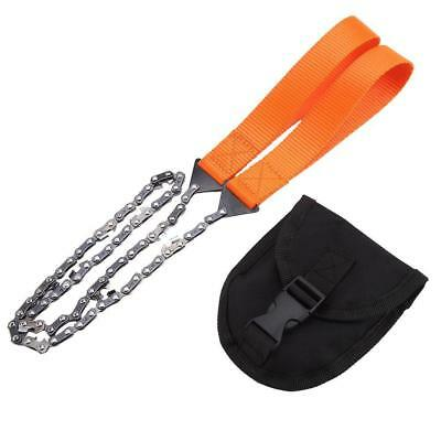 Portable Gear Pocket Chain Saw Chainsaw Emergency Camping Hiking Survival Tool