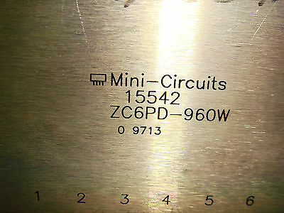 Mini-Circuits ZC6PD-960W POWER SPLITTER COMBINER