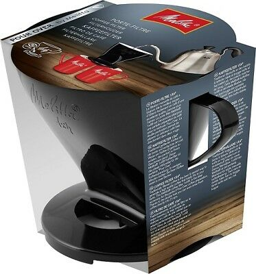 Melitta Pour Over 1 X 4 Coffee Filter Cone Brew 2 Cups At Same Time    6761018