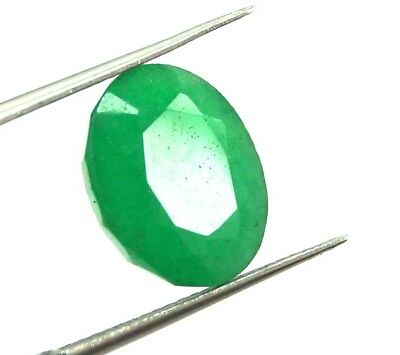 GGL Certified 6.55 Ct Natural Oval Cut Green Emerald Gemstone Hurry Now